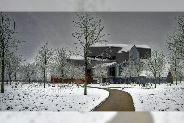 Noch einmal im Schnee