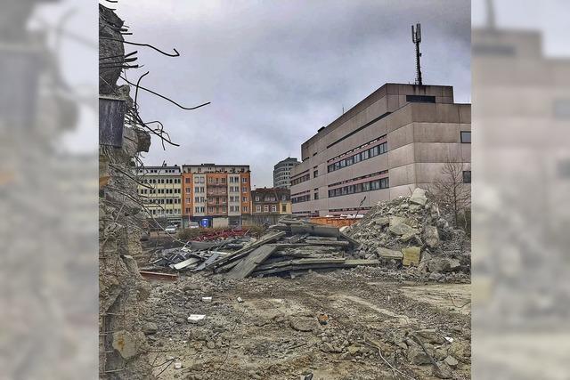 Gebäude auf Postareal weichen