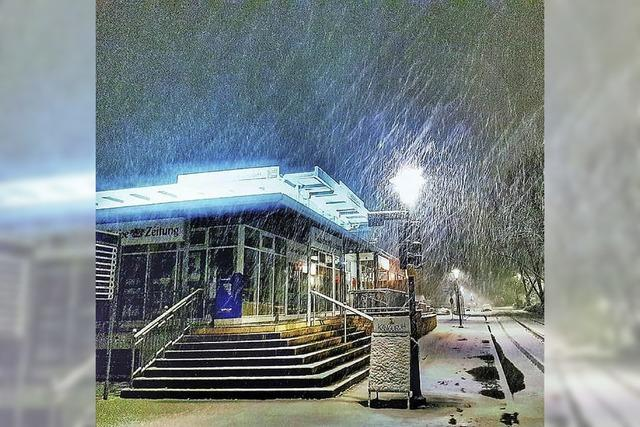 Der Winter hat noch mal Station gemacht