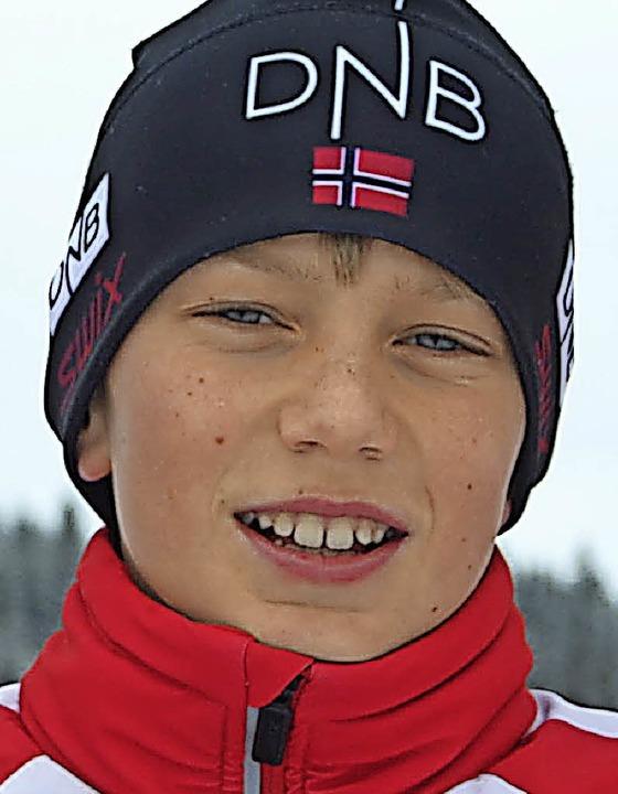Der Kirchzartener Matteo Lewe wurde Siebter in der Gesamtwertung.  | Foto: Helmut Junkel