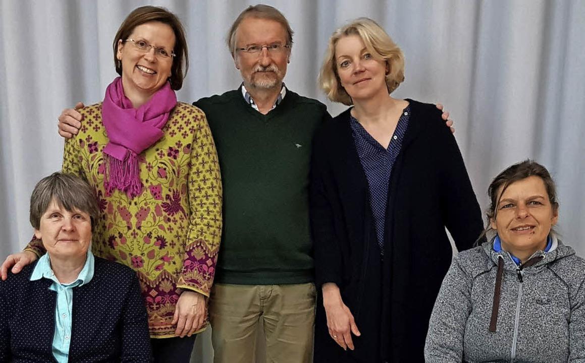 Für  sechs Monate wieder im Amt: (hint...hringer (links) und Anne Lackermaier.   | Foto: Steckmeister