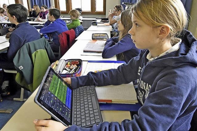 Freiburger Friedrich-Gymnasium ist für digitales Lernen ausgezeichnet worden