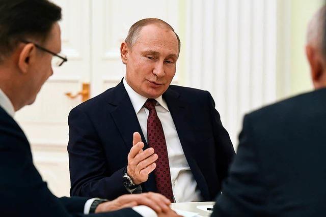 Putin ist außenpolitisch ein Gefangener seiner Weltmachtinszenierung