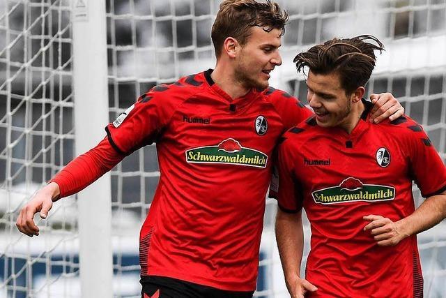 Die Zweite des SC Freiburg liebäugelt mit der dritten Liga