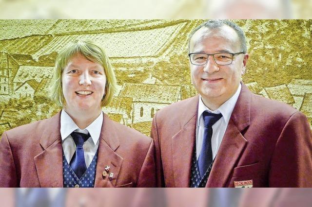 Neues Duo an der Spitze des Musikvereins