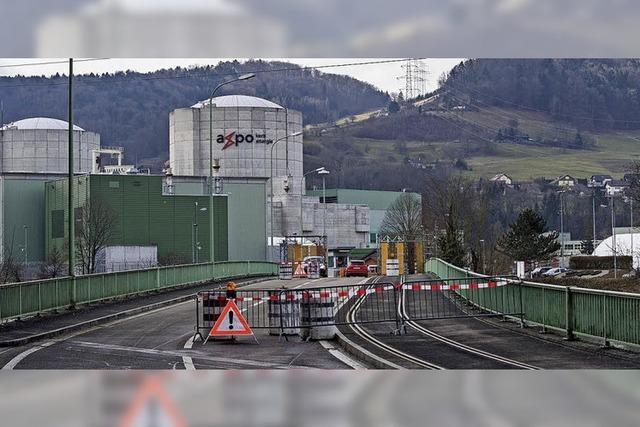 Vollgasbetrieb bei Block 1 des Kernkraftwerks Beznau