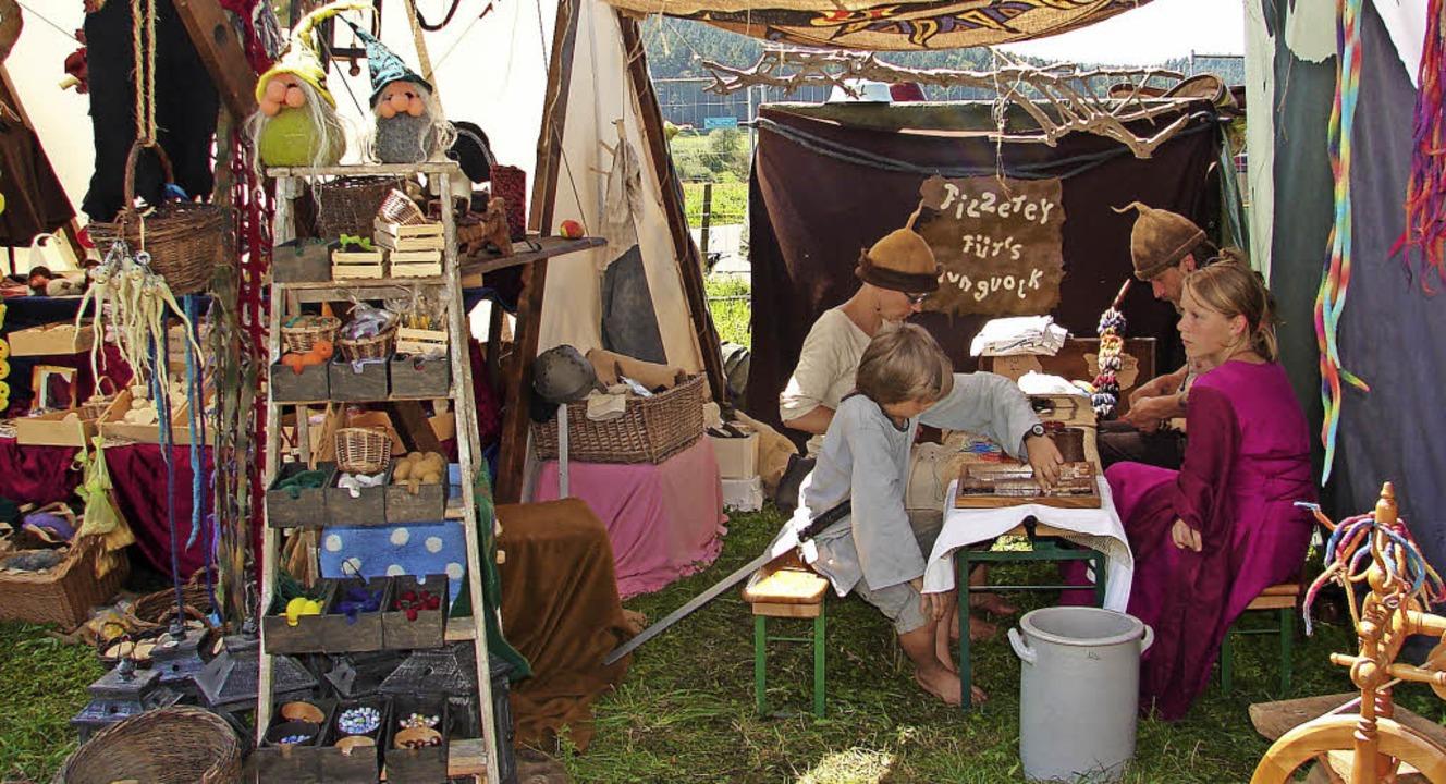 Ein Mittelaltermarkt soll die 1200-Jahr feier in Löffingen bereichern.   | Foto: Christa Maier