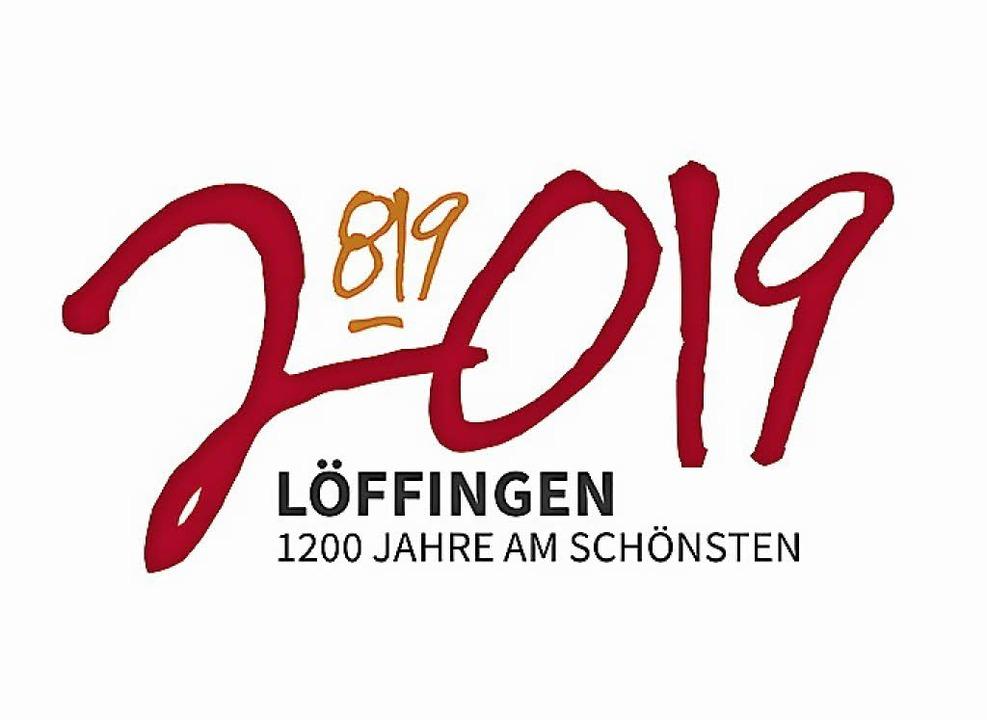 Das neue Löffinger Logo zum 1200-jährigen Bestehen der Stadt.   | Foto: Tanja Riedlinger