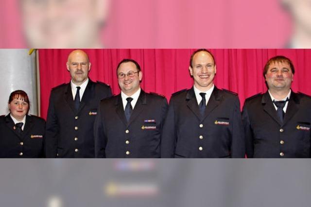 Verjüngungskur in der Feuerwehrleitung der Berggemeinde