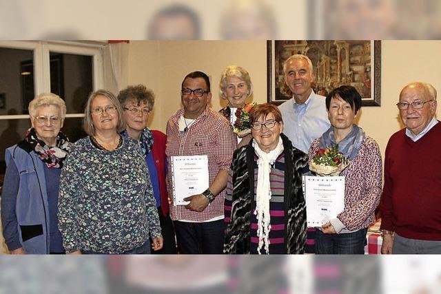 Der VdK-Ortsverband freut sich über neue Mitglieder