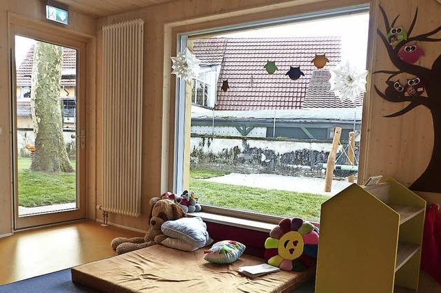 Heimelige Räume für 20 Kleinkinder