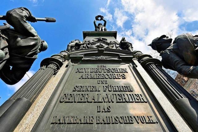 Der Platz am Siegesdenkmal heißt nun Europaplatz