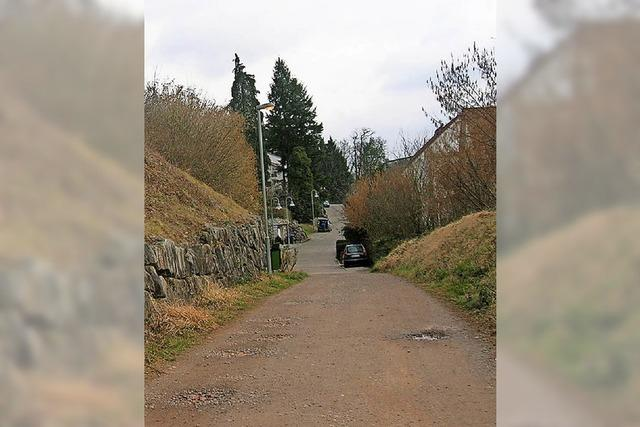 Bebauungsplan für zwei Häuser am Hang