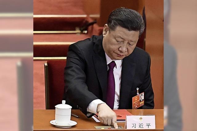 Chinas starker Mann gibt sich nationalistisch