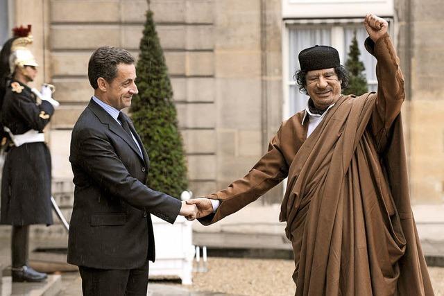 Sarkozy im Kreuzverhör