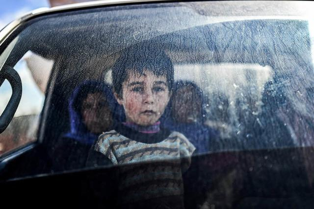 Massenvertreibung in Syrien