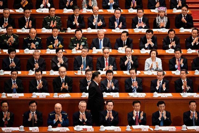 China unter Xi Jinping fällt in die Diktatur zurück