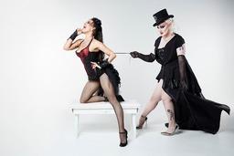 Burlesque-Show in der Passage46