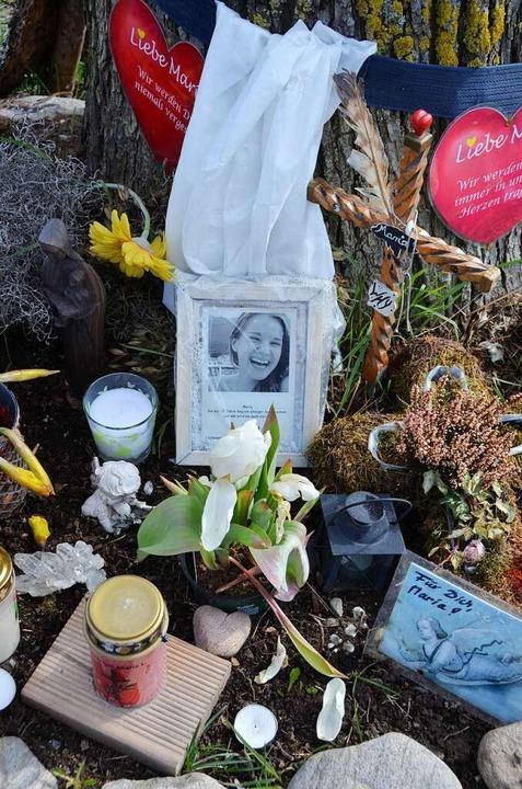 Ich will, dass ihr nicht weint: Gedenken an Maria.  | Foto: Hupka