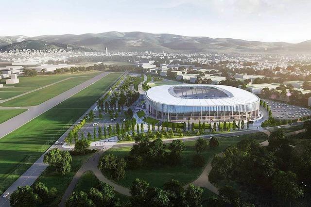 So sahen die Alternativentwürfe des neuen SC-Stadions aus
