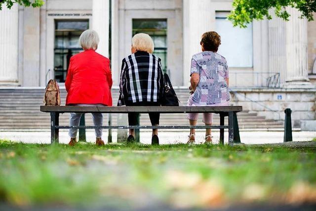 Die Rente steigt ab 1. Juli um 3,2 Prozent an