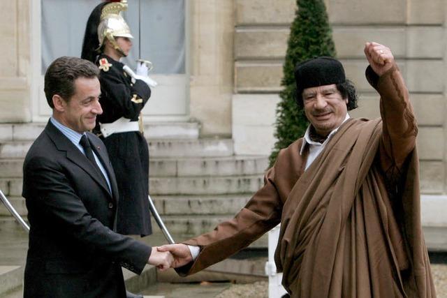 Sarkozys Vermächtnis: Gaddafis Vermächtnis