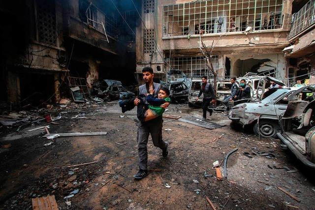 In Syrien tobt ein gnadenloser Krieg gegen die Kinder
