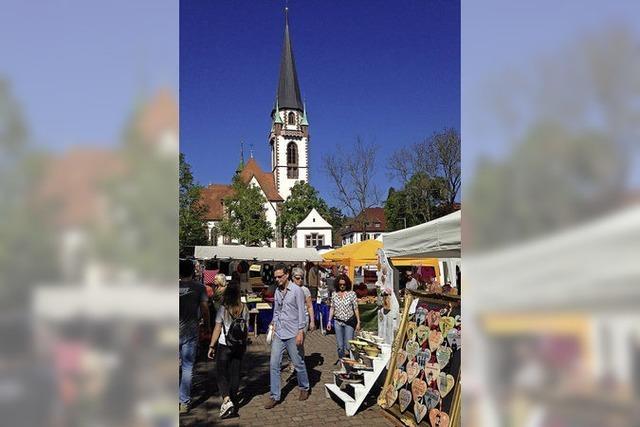Emmendingen: Künstlermarkt und Kleinkunstpreis