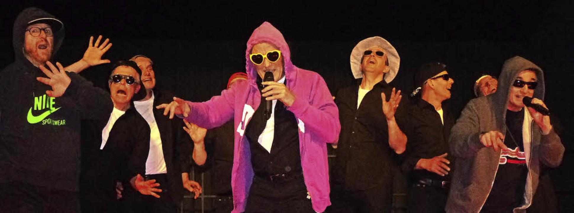 """Die """"Ohrwürmer"""" aus Oberri...men nicht ohne Zugaben von der Bühne.     Foto: Anne Freyer"""