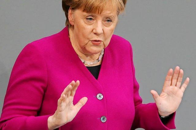 Merkel gibt sich selbstkritisch