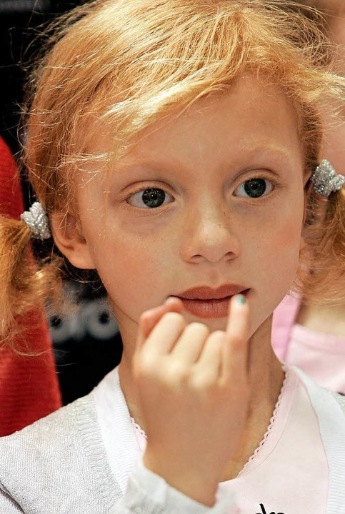 "Schon 2007 war Anna Ermakowa in Düssel...ot;Beauty International"" zu Gast.  | Foto: dpa"