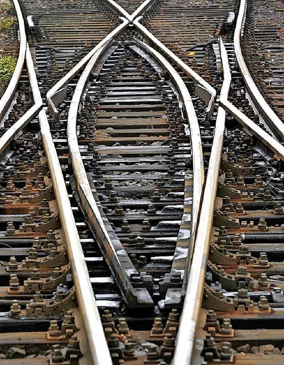 Welche Weichen wird das Bundesverwaltu... auf die künftige Bahnplanung stellen?  | Foto: dpa