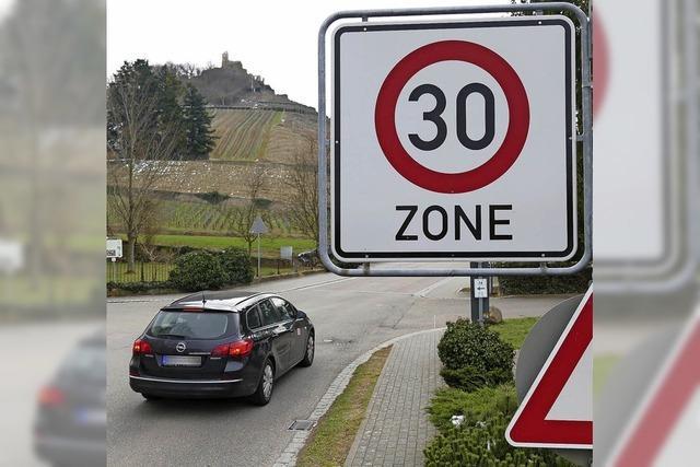 Aufgepasst: Neue Tempo-30-Zone in Staufen