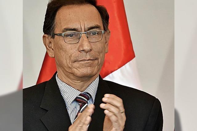 Perus Präsident tritt zurück
