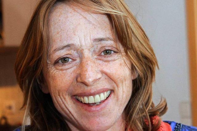 Diana Wirths-Mandel ist in Eisenbach als mobile Friseurin unterwegs