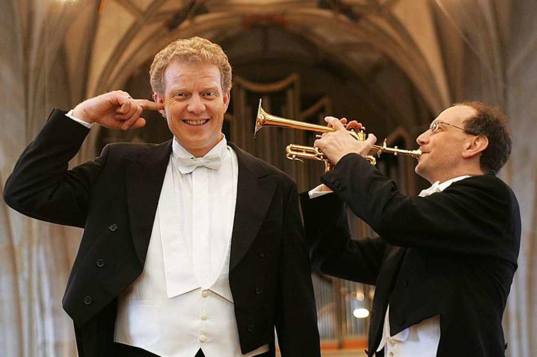 Paul Theis (links) und Bernhard Kratzer   | Foto: PR