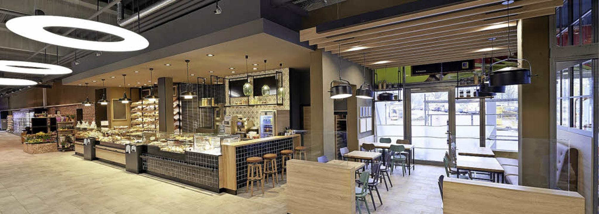 Eine weitere Neuerung: die Marktbäckerei mit 25 Sitzplätzen    Foto: gegg (4)