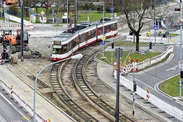 Drei Tramlinien sind in den Osterferien wegen Bauarbeiten unterbrochen