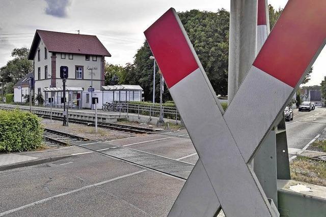 Busse und gesperrte Bahnübergänge