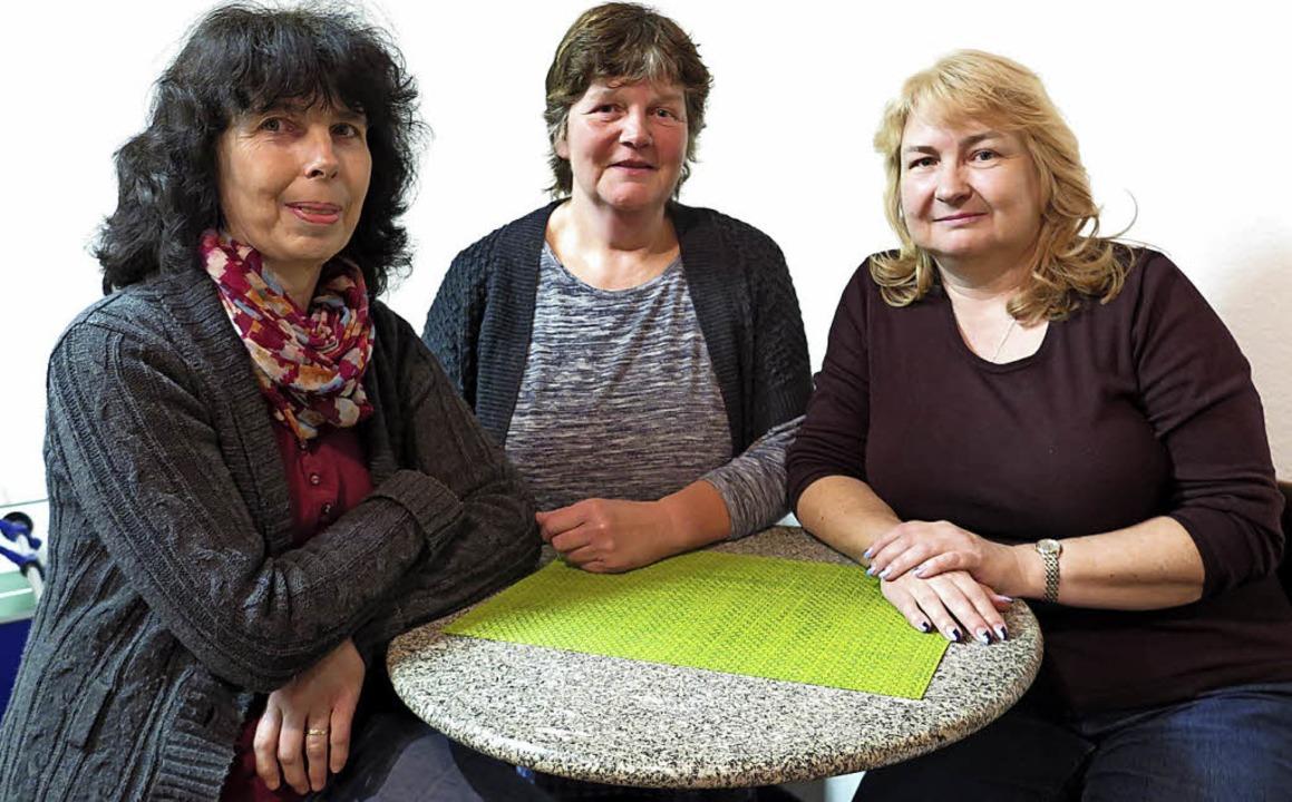 Drei Frauen übernehmen die Führung bei...) und  Andrea Wehrle (Schriftführerin)  | Foto: Beatrice Ehrlich