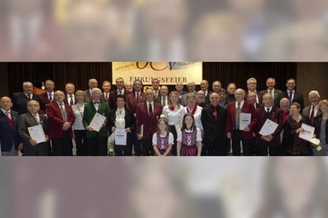 Große Feier im Chorverband