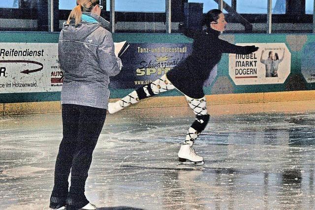 Eiskunstläufer auf dem Prüfstand