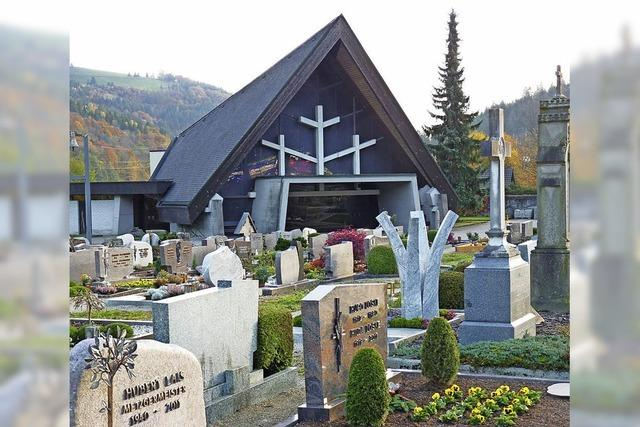 Auf dem Friedhof geht es vorwärts