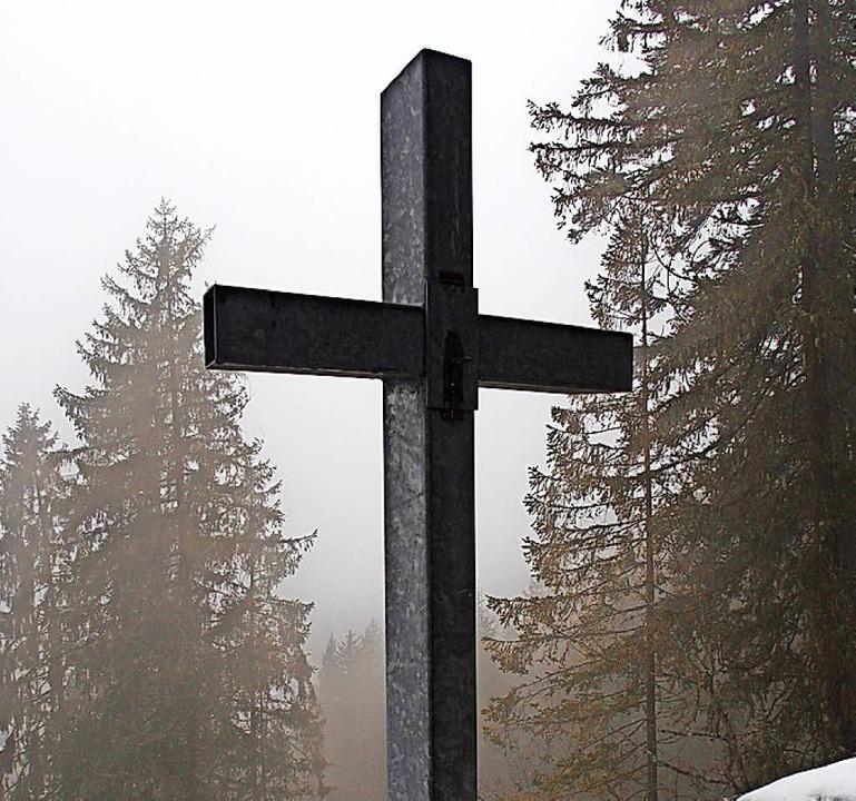 Wo steht dieses Kreuz?   | Foto: mut