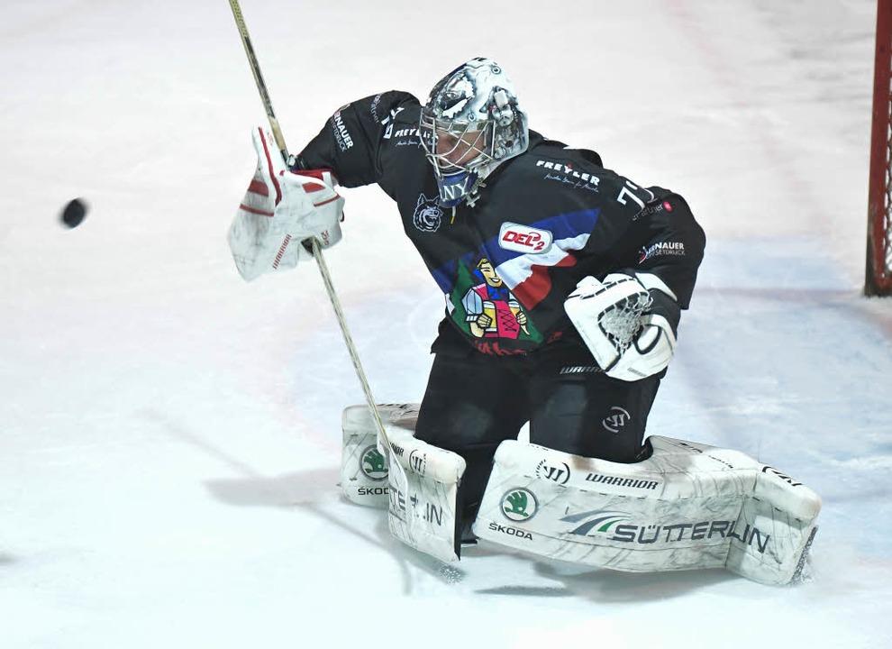 Einer der Freiburger Matchwinner: Keeper Miro Hanuljak.  | Foto: Achim Keller