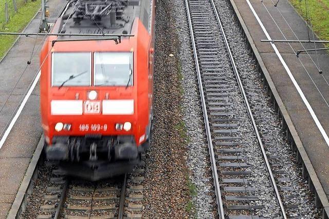 Jugendliche lösen Sperrung der Rheintalbahn aus