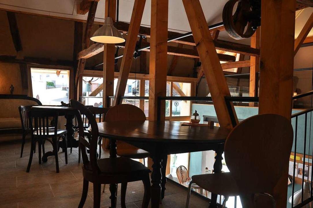 Das Galerie Café in Bamlach, das Astri...nstaltungsort für Musiker und Autoren.    Foto: Jutta Schütz