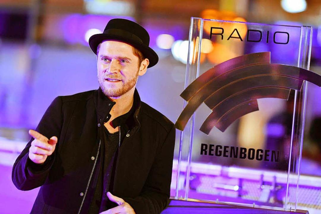 Sänger Johannes Oerding, Preisträger in der Kategorie The Voice    Foto: dpa