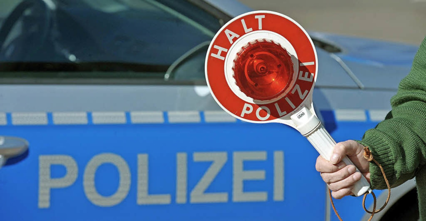 In  Breisach wurden viele Verkehrskontrollen durchgeführt    Foto:  dpa