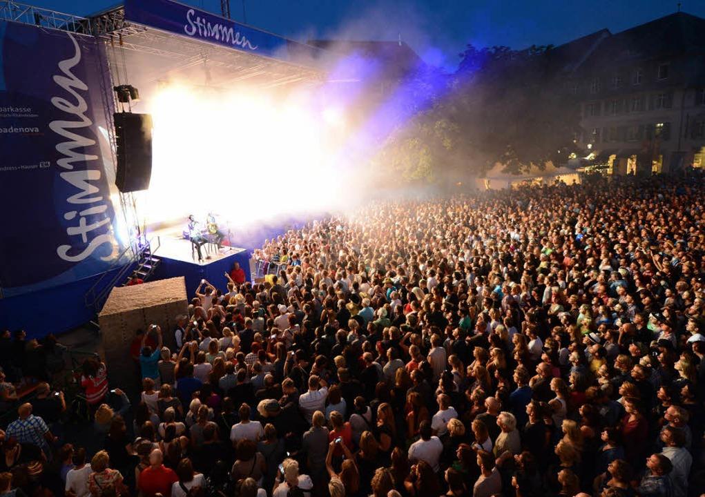 Das Stimmen-Festival ist in 25 Jahren ...Line-Up bleibt  aber außergewöhnlich.     Foto: Fotos: Junkvov, Ruda